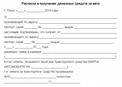 Как Правильно Писать Долговую Расписку Без Нотариуса Образец img-1